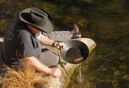 Libby Creek Gold Panning